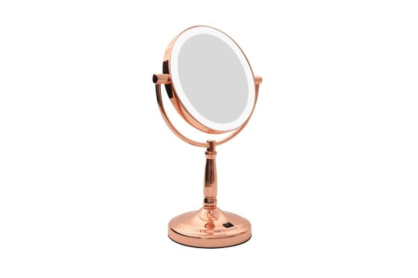 HoMedics Iluminated LED Vanity Mirror - Rose Gold (MRG445LED)