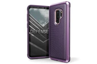 X-Doria Defense Lux Drop Protection Case/Cover f/ Samsung Galaxy S9+ Plus Purple