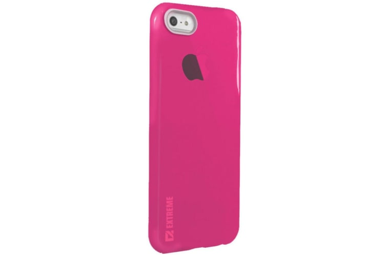 Slim Ruby Red Transparent Flexible Shock Resistant Cover Case for iPhone 6 6s