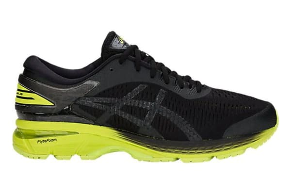 4d5b9e367371 ASICS Men s Gel-Kayano 25 2E Running Shoe (Neon Lime Black