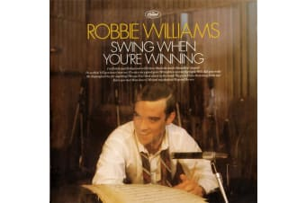 Robbie Williams ‎– Swing When You're Winning BRAND NEW SEALED MUSIC ALBUM CD