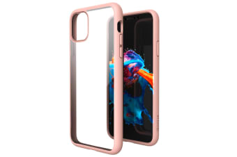 ZUSLAB iPhone 11 Pro Max Case Tough Fusion Shock Absorption Rubber Bumper Pro Maxtective Transparent Hard Back Clear Cover for Apple - Pink