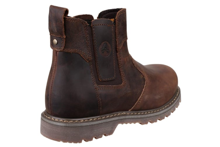 Amblers Steel FS165 Safety Boot / Womens Ladies Boots / Dealers Safety (Brown) (4 UK)