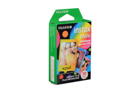 Fujifilm Instax Mini Rainbow Film - 10 Sheets