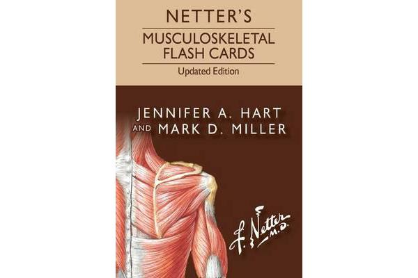 Netter's Musculoskeletal Flash Cards Updated Edition