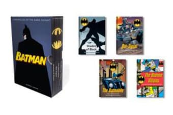 Batman: Chronicles of the Dark Knight - (4 hardcover, illustrated books)