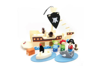 Wooden Pirate Play Set - Kaper Kidz