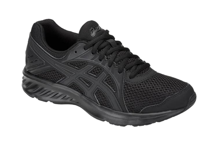 ASICS Women's JOLT 2 Running Shoes (Black/Dark Grey, Size 7)