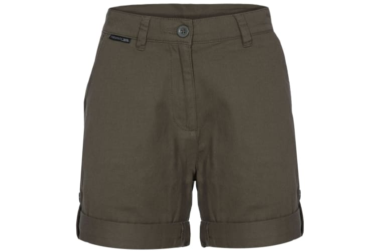 Trespass Womens/Ladies Rectify Adventure Shorts (Moss) (XS)