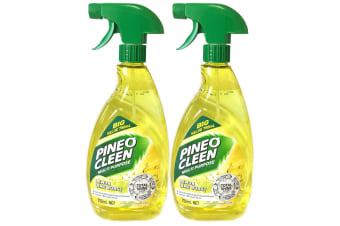 2x Pine O Cleen Lemon Lime 750mL/Multi Purpose House/Kitchen Cleaning Spray