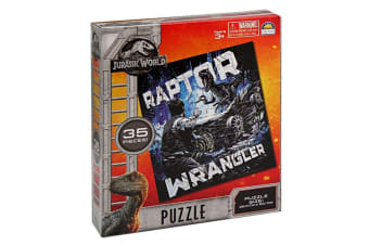 35pc Jurassic World Raptor Wrangler Jigsaw Educational Puzzle Kids/Children Toy