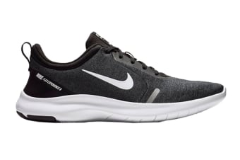 Nike Men's Flex Experience Run 8 Shoes (Black/White/Cool Grey/Reflect Silver, Size 9.5 US)