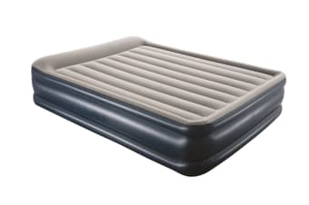 Queen Inflatable Mattress with Built-in Pump and Storage Bag