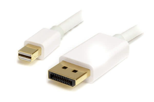 Mini DisplayPort to DisplayPort Cable (Male to Male, 1.2m)
