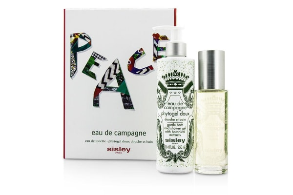 Sisley Eau De Campagne Coffret: Eau De Toilette Spray 100ml/3.3oz + Bath Shower Gel 250ml/8.4oz (2pcs)
