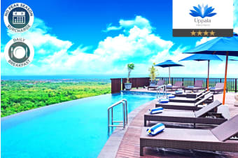 BALI: 5 or 7 Nights at Uppala Villa Nusa Dua