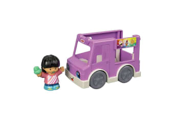 Little People Small Vehicle Share a Treat Ice Cream Truck