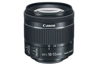 New Canon EF-S 18-55mm f/4-5.6 IS STM (kit lens) (FREE DELIVERY + 1 YEAR AU WARRANTY)