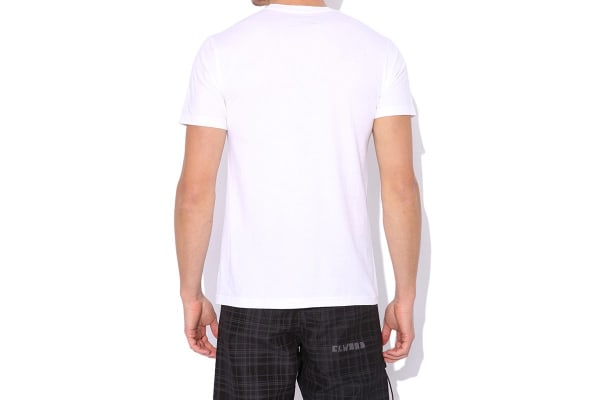 Elwood Men's Old West Tee (White, Small)