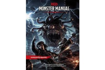 Monster Manual - A Dungeons & Dragons Core Rulebook