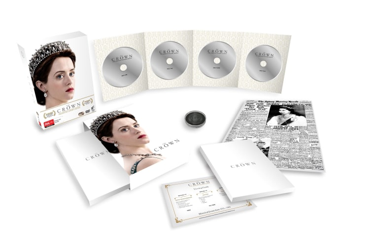The Crown Season 2 Box Set With Special Packaging DVD Region 4