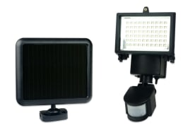 Solar Powered Motion Sensor LED Flood Light