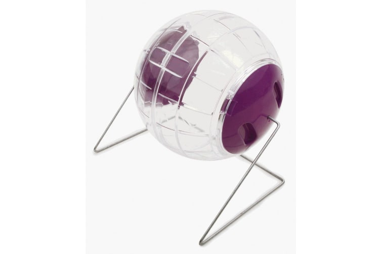 Pennine Hamster Play Ball With Stand (Clear) (One Size)