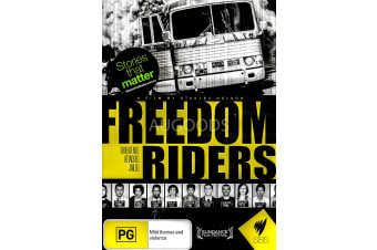 FREEDOM RIDERS - Series Region All Rare- Aus Stock DVD NEW