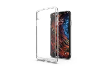 MAXSHIELD Heavy Duty Shockproof Slim Cover for iPhone X/XS-Clear