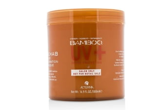Alterna Bamboo Color Hold+ Color Protection Rehab Deep Hydration Masque (For Strong, Vibrant, Color Protected Hair) 500ml