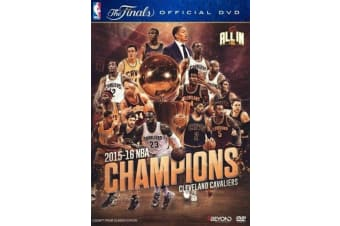 NBA - 2016 CHAMPIONS - CLEVELAND CAVALIERS (DVD) BRAND NEW [REGION 4]