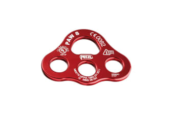 Petzl Paw Plate Small Connecting Elements Red