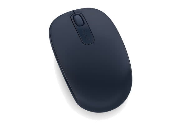 Microsoft Wireless Mobile Mouse 1850 (Blue) (U7Z-00015)