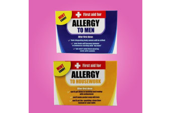 First Aid Novelty Allergy Mints For Her - Allergy To Men