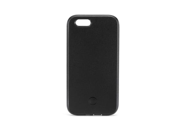 Selfie Case for iPhone 6/6s Plus with Power Bank (Black)