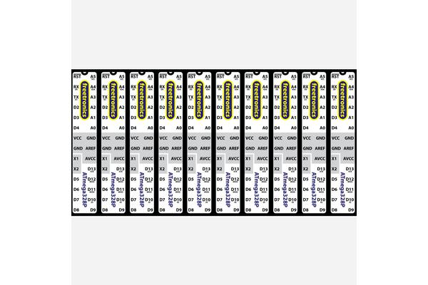 Microcontroller Labels - Arduino pinout
