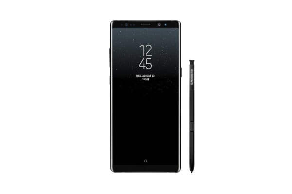Samsung Galaxy Note8 Refurbished (64GB, Midnight Black) - AB Grade