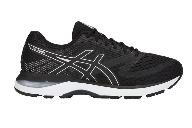 ASICS Men's GEL-Pulse 10 Running Shoe (Black/Silver, Size 13)