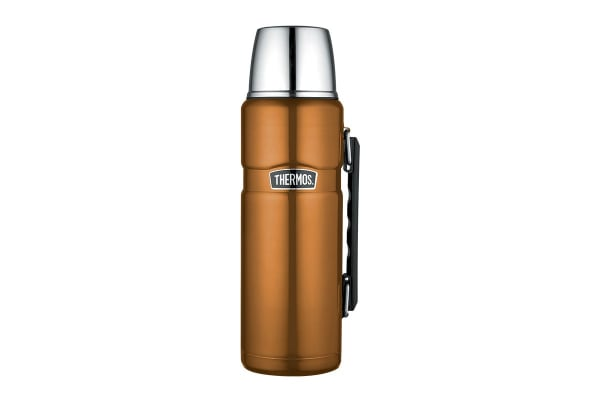 Thermos Stainless King 1.2L Vacuum Insulated Flask (Copper)