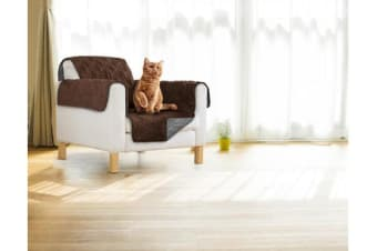 Sprint Industries Pet's Sofa Cover - Love Seat Size Chocolate/charcoal
