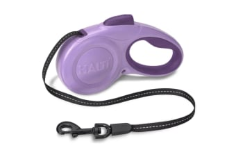The Company Of Animals HALTI Walking Retractable Lead (Purple)