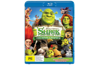 Shrek Forever After The Final Chapter Blu-ray Region B