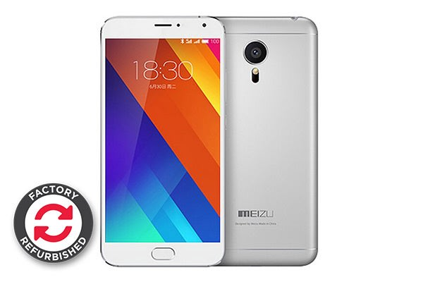 Meizu MX5 (32GB, Silver White) (Refurbished)