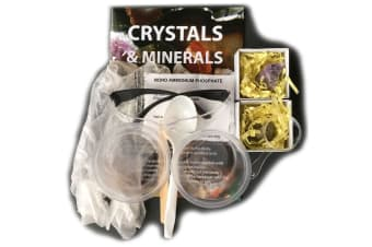 Discover Science Crystals & Minerals (Crystals Growing Kit)