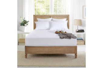 Bamboo Terry waterproof mattress protector Double Bed
