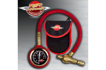AIR ATTACK 4X4 4WD TYRE TIRE 50MM DIAL PRESSURE GUAGE MEASURE TOOL NEW 65AAPTDG