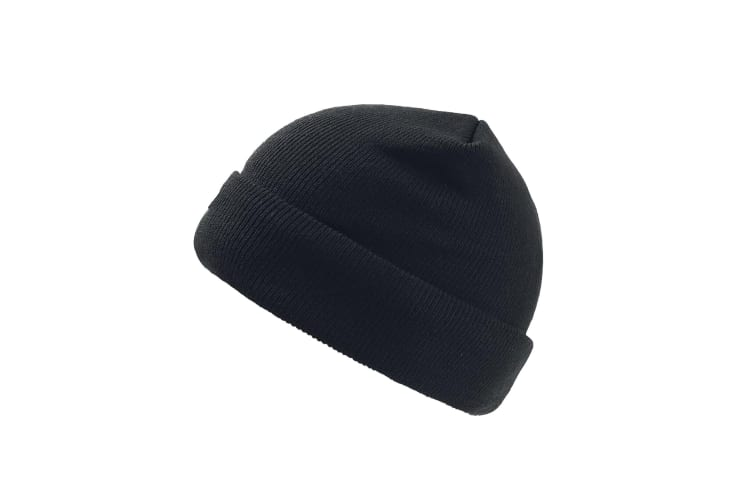 Atlantis Pier Thinsulate Thermal Lined Double Skin Beanie (Black) (One Size)