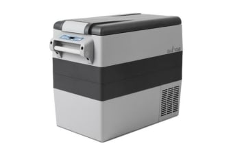 58L Portable Cooler Fridge (Grey)