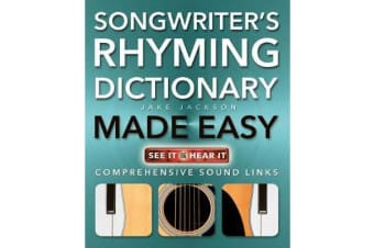 Songwriter's Rhyming Dictionary Made Easy - Comprehensive Sound Links