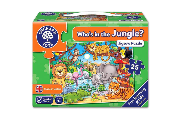 Orchard Toys Farm Who's in the Jungle Jigsaw Puzzle